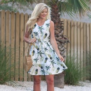 Dresses & Skirts - Pineapple Printed Dress